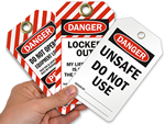 Danger Safety Tags