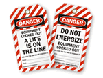 Equipment Lockout Tags