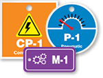 Numbered Energy Source Tags