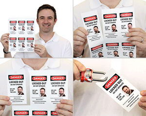 Print Your Own Photo Lockout Tags