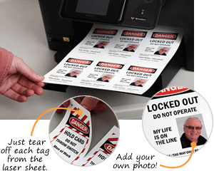 Print Your Own Lockout Tags