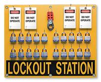 20 position - Lockout Station Kit