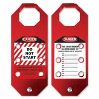 STOPOUT Aluma Tag Hasp, Danger Do Not Start