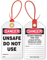 Unsafe Do Not Use Loop n Lock Tag