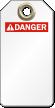 Blank ANSI Danger Tag