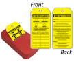 Scaffold Inspection 2-Sided Status Record Refill QuickTags™ Dispenser
