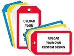 Custom Red Tags