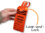 Custom Self-Locking Tags