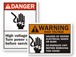 Disonnect Power Before Servicing Signs