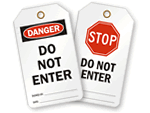 Do Not Enter Tags