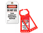 Forklift Lockout Tags