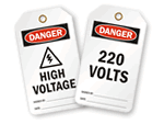 High Voltage Tags