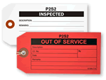 Out of Service Custom Tags