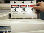 Laser Printable LOTO Tags