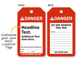 ANSI Safety Tags