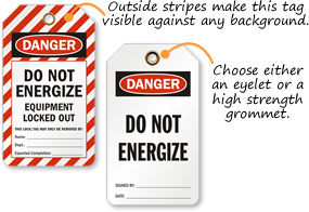 Do Not Energize Tags
