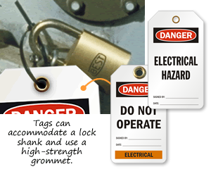 Electrical Lockout Tags