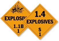 Explosive Placards