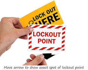 Lockout point labels