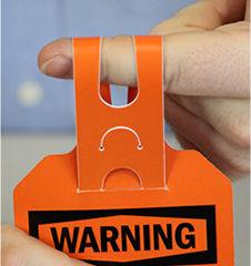 Self Locking Safety Tag