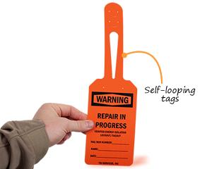 Self-looping tags
