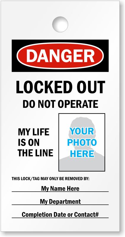 Design And Print Your Own Lockout Tags For Free