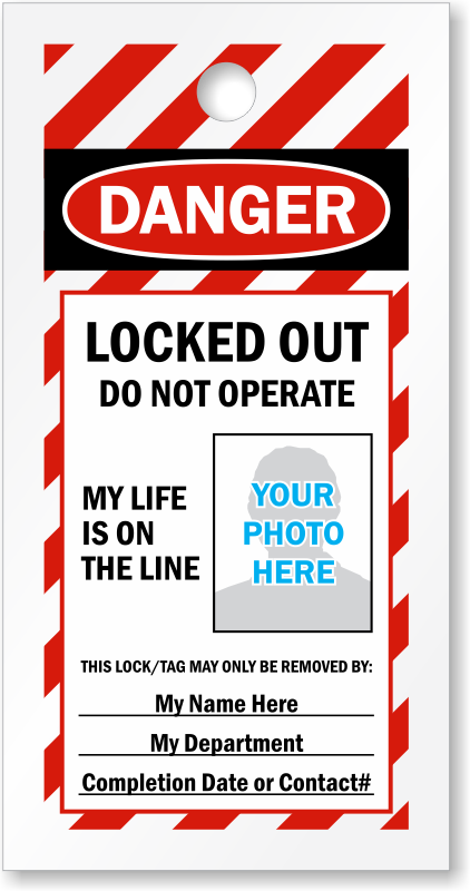 Design And Print Your Own Lockout Tags For Free LockoutTagcom - Locker tag templates