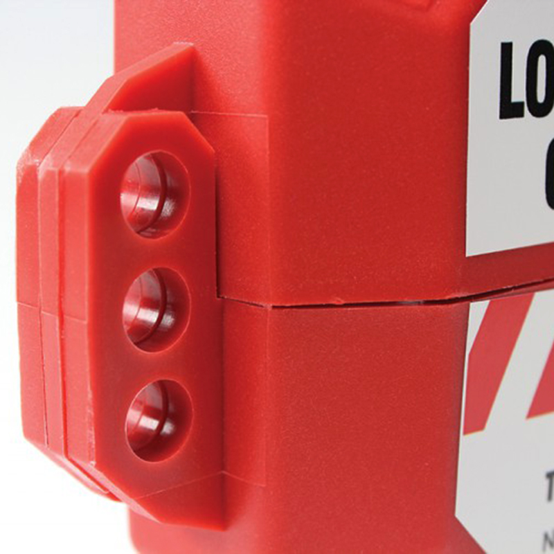 Stopout Gate Valve Lockout Stop Sign Shaped Device Sku