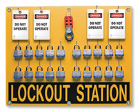 20 position - Lockout Station Kit