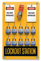 10 Position - Lockout Station Kit