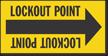 Lockout Point Arrow Label