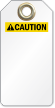 Blank ANSI Caution Tag