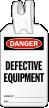 Defective Equipment Self Locking Tag
