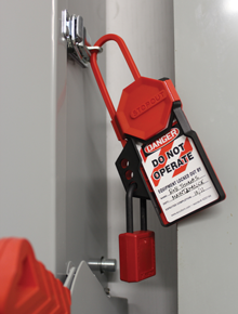 STOPOUT Tag 'n' Hang Hasp - Lockout Devices
