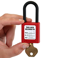 Do Not Remove This Lock Label