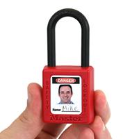 Self Laminating OSHA Danger Padlock Label