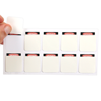 Write Your Message Here Self Laminating Label