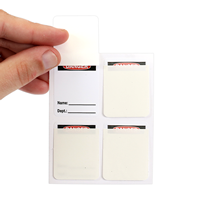 Add Your Photo Here Self Laminating Label