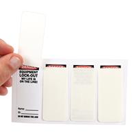OSHA Danger Self Laminating Padlock Label
