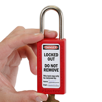 Do Not Remove Property Of,Padlock Label