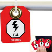Electric, E1 To E10 Double-Sided Micro Tags