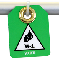 Water, Double Sided Energy Source Identification Micro Tags