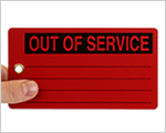Out of Service Tags