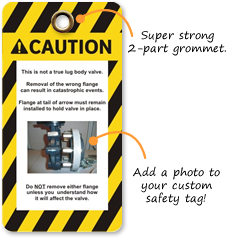Safety Tag with Photo