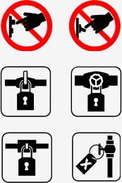 Lock-out symbols