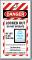 Print Own Striped OSHA Locked Out Photo Tag